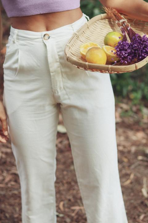 Calça Joana Offwhite