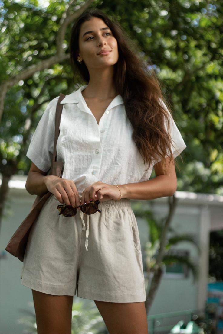 Camisa Marcela Offwhite