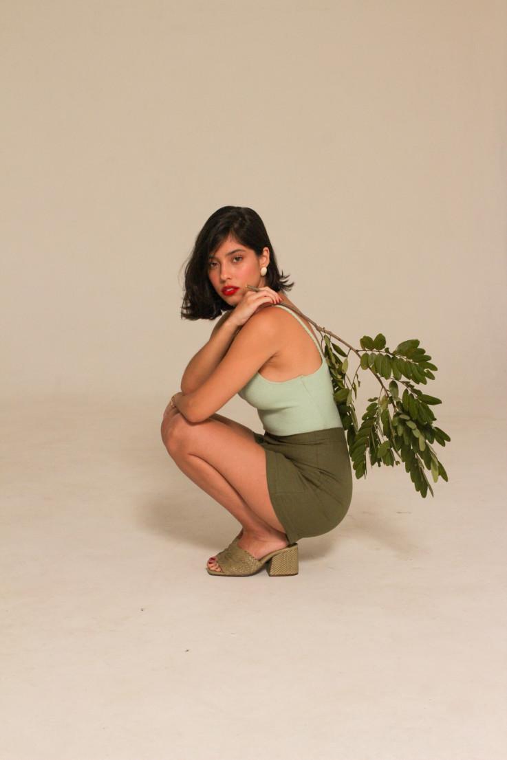 Cropped Dina Verde