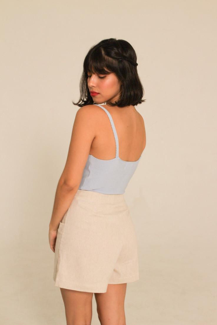 Cropped Dina Azul