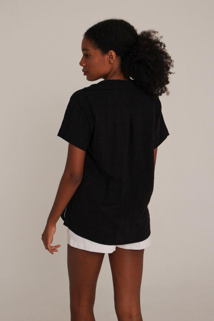 Camisa Marcela Preta