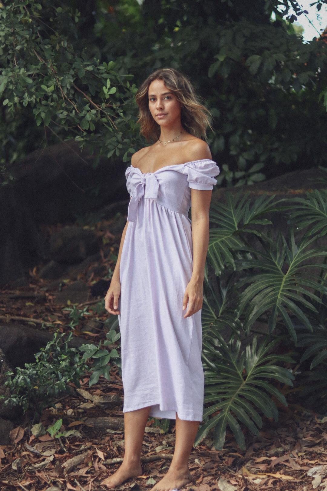 Vestido Olívia Lilás