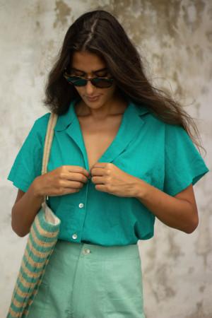 Camisa Marcela Verde