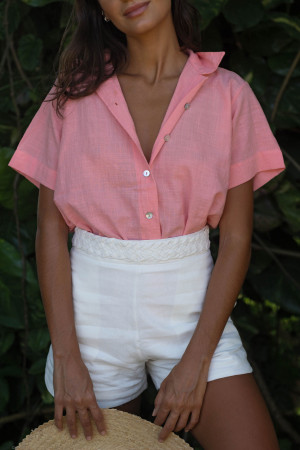 Camisa Marcela Rosa
