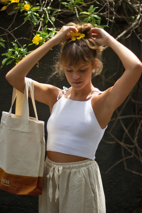 Cropped de Tricot Offwhite