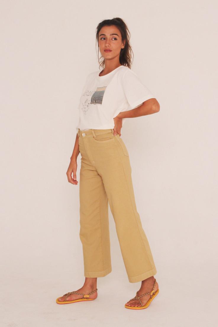 Calça Jeans Folha Seca