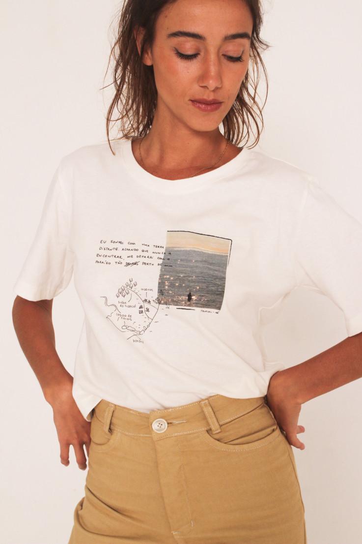T-shirt Tropical